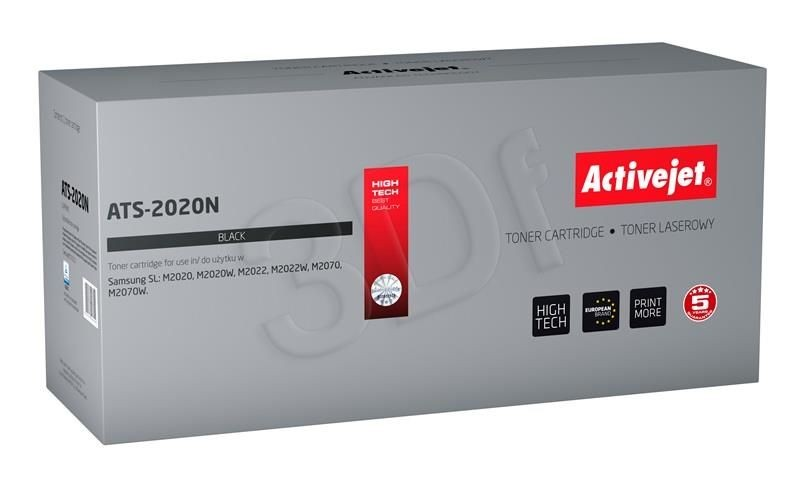 ActiveJet Toner ATS-2020N (zamiennik Samsung MLT-D111S; Supreme; 1000 stron; czarny)