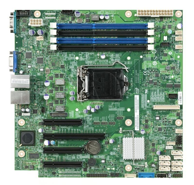 Intel Płyta serwerowa DBS1200V3RPL 934312 (LGA 1150; 4x DDR3 DIMM)