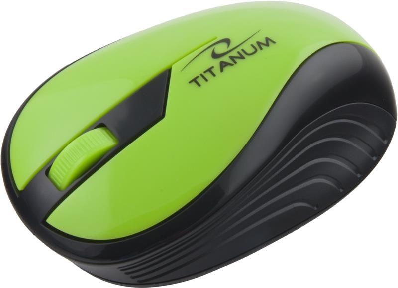 Esperanza Mysz bezprzewodowa RAINBOW TM114G optyczna zielona