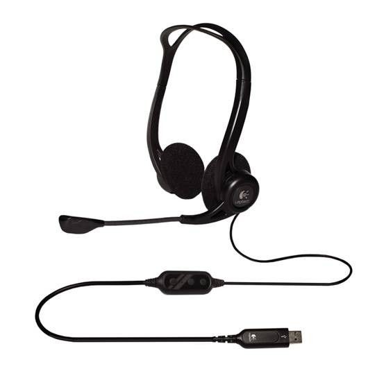 Logitech PC960 OEM USB Stereo Headset 981-000100