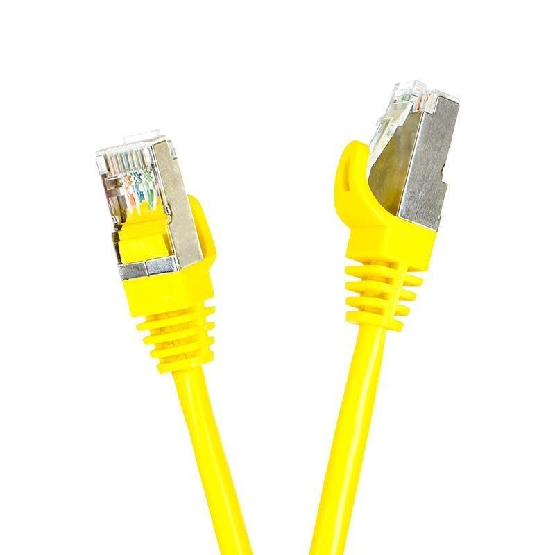 Digitalbox Patchcord FTP cat.5e 15m START.LAN żółty
