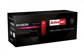 ActiveJet Toner ATH-6003AN (zamiennik HP 124A Q6003A Canon CRG-707M; Premium; 2000 stron; czerwony)