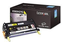 Lexmark X560H2YG Toner yellow 10000 str. X560