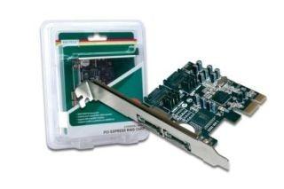 Digitus DS-30102-1 - Speichercontroller (RAID) - SATA 3Gb/s / eSATA 3Gb/s - PCIe x1