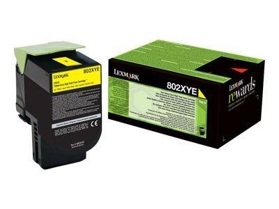 Lexmark 80C2XYE Toner yellow korporacyjny 4000 str. CX510