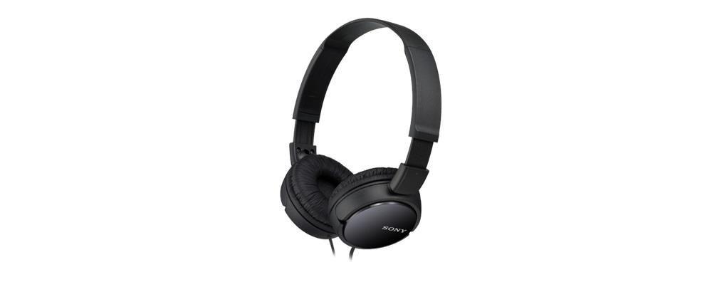 Sony MDRZX110B.AE Słuchawki nauszne skladane ZX czarne