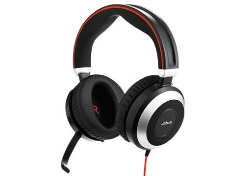 Jabra EVOLVE 80 UC DUO/ONLY WITH 3.5MM JACK