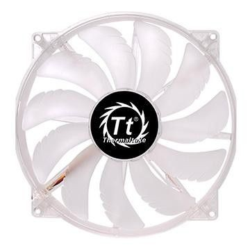 Thermaltake Wentylator - Pure 20 LED White (200mm, 800 RPM) BOX