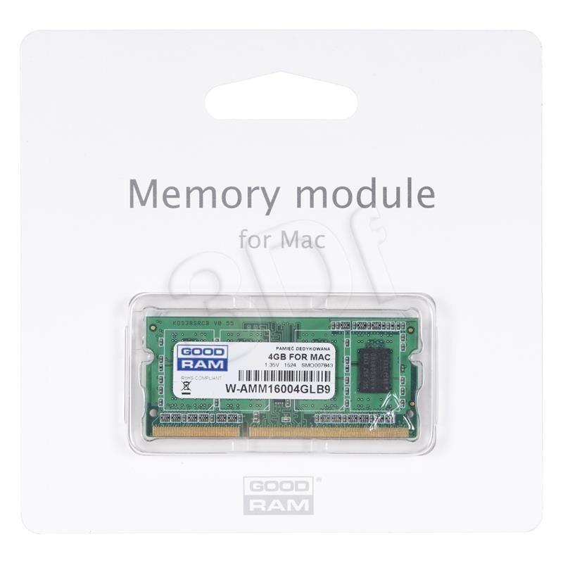 GoodRam Pamięć RAM W-AMM16004GL (DDR3 DIMM; 1 x 4 GB; 1600 MHz)
