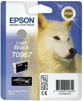Epson C13T09674010 Tusz T0967 light black UltraChrome K3 Stylus photo R2880