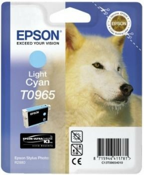 Epson C13T09654010 Tusz T0965 light cyan UltraChrome K3 Stylus photo R2880