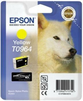 Epson C13T09644010 Tusz T0964 yellow UltraChrome K3 Stylus photo R2880