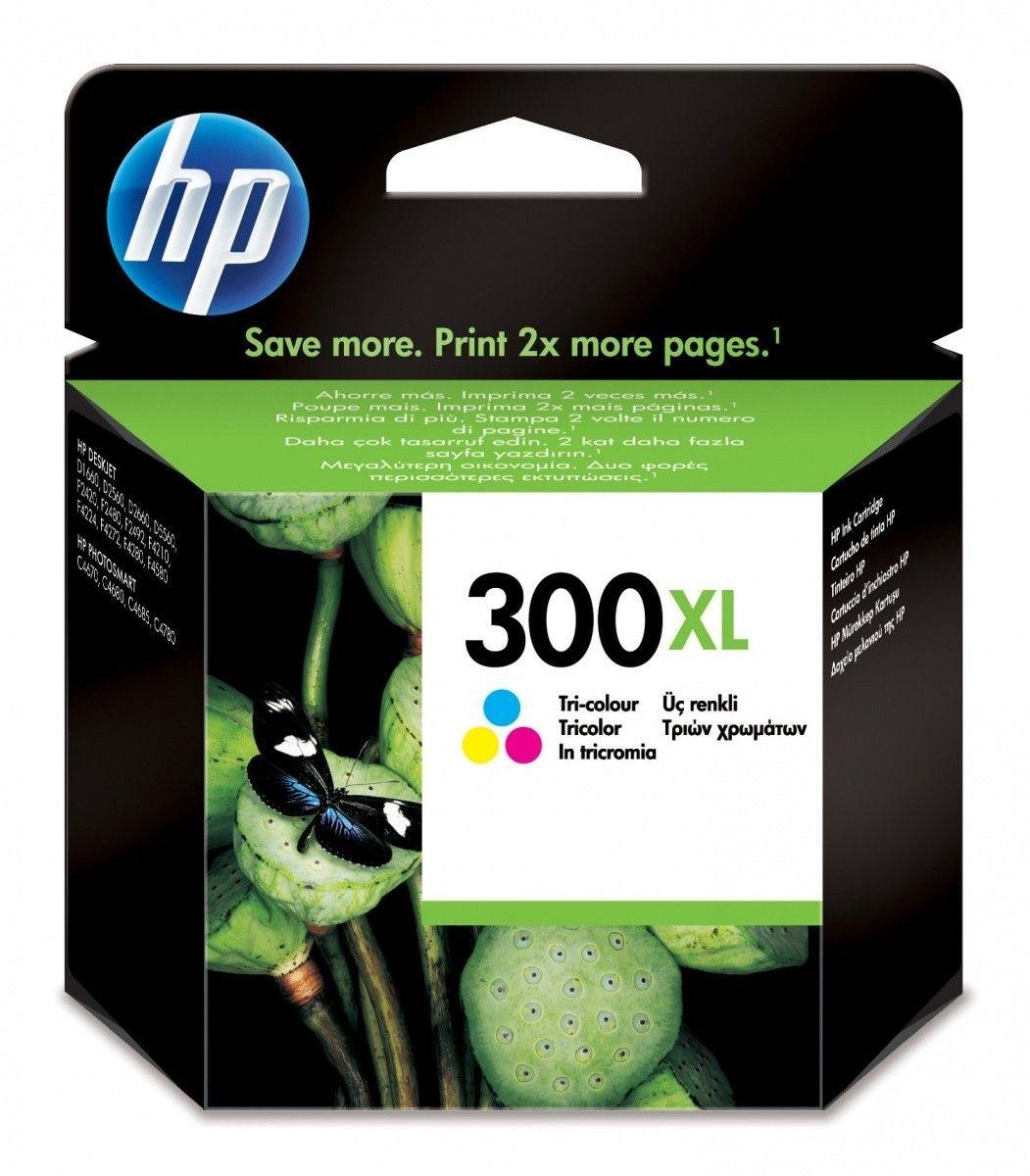 HP Tusz nr 300 Kolor XL CC644EE