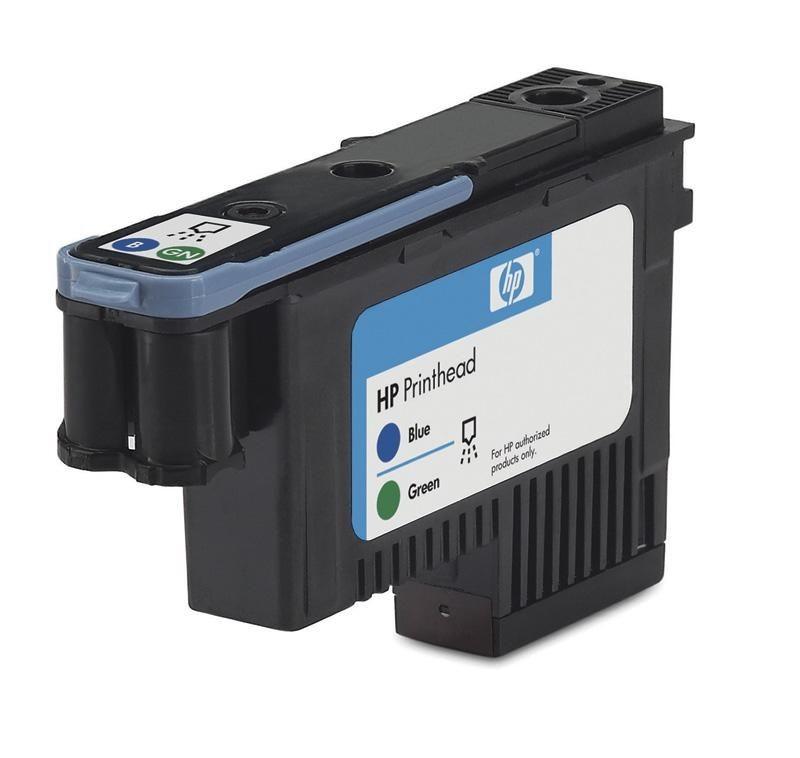 HP Głowica No 70 Ink Cart/Blue+Green Printhead