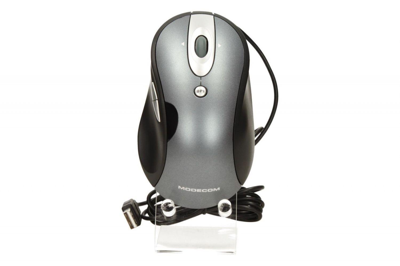 ModeCom Mysz przewodowa Modecom MC-920 optyczna szaro-srebrna