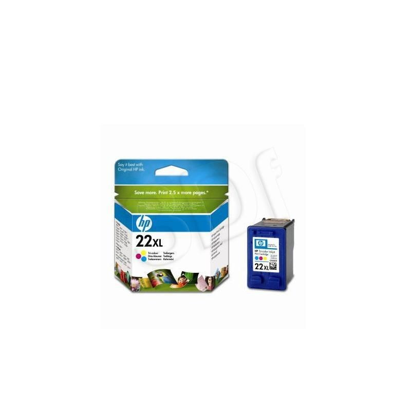HP INK CARTRIDGE COLOR NO.22XL/11ML C9352CE
