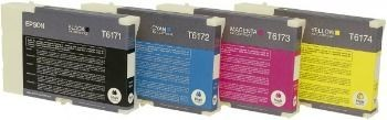 Epson C13T617200 Tusz cyan high capacity Business Inkjet B500DN