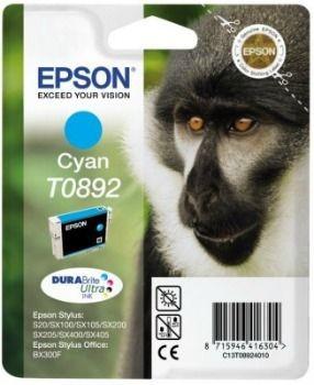 Epson C13T08924011 Tusz T0892 cyan DURABrite 3.5ml Stylus S20/SX100/SX105/SX200/SX205/...