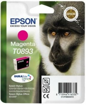 Epson C13T08934011 Tusz T0893 magenta DURABrite 3.5ml Stylus S20/SX100/SX105/SX200/SX2...