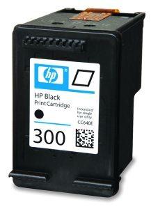 HP Tusz 300 Black, 4ml, 200 stron