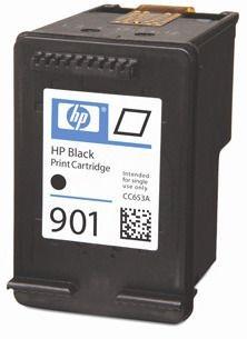 HP Tusz CC653AE (oryginał901 901; 4 ml; czarny)