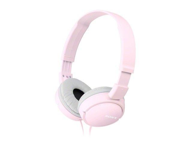 Sony Słuchawki MDR-ZX110 różowe