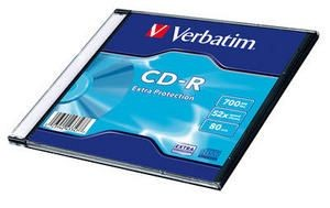 Verbatim 43347 CD-R slim jewel case 200 700MB 52x DataLife