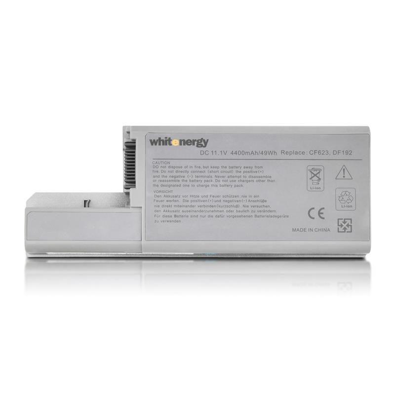 Whitenergy 04804 bateria do laptopa Dell Latitude D820 11.1V Li-Ion 4400mAh