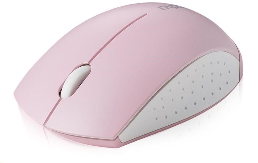 Rapoo Mysz 3360 Mini Różowa 155199