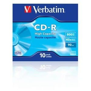 Verbatim CD-R 40x 80MB 10P JC Extra Protection 43428