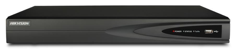 Hikvision HIKVISION NVR, 16 kanálů, 2x HDD (až 16TB), 2x USB, 1xHDMI a 1xVGA výstup, 4x DI / 1x DO, audio in/out