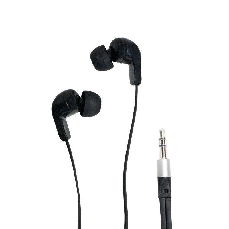 LogiLink Słuchawki douszne stereo 3,5mm jack, czarne
