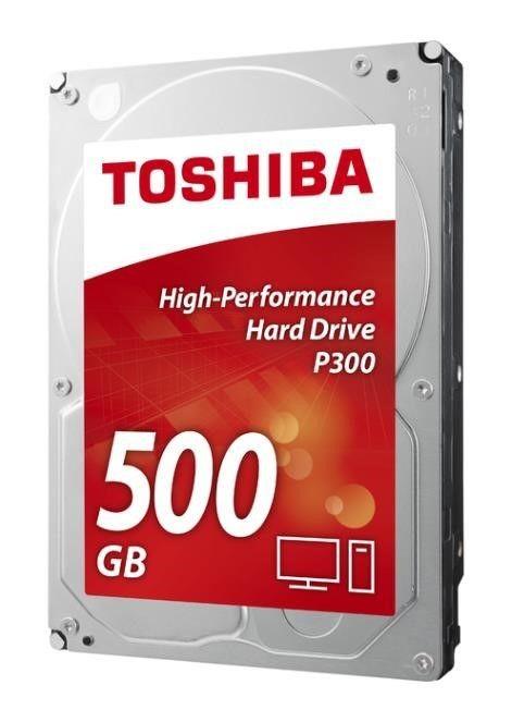 Toshiba Dysk twardy Toshiba P300, 3.5'', 500GB, SATA/600, 7200RPM, 64MB cache, BOX
