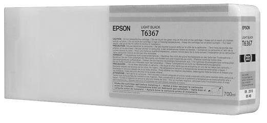 Epson ink T636700 light black UltraChrome 700ml for Stylus Pro 7900 9900