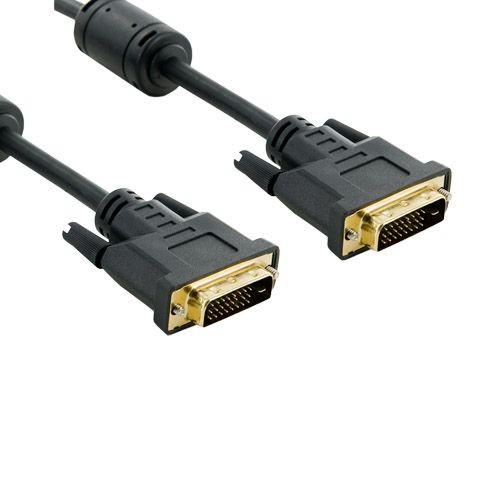 4World Kabel DVI-D - DVI-D | 24+1 M/M | DL | 3m | ferryt | czarny