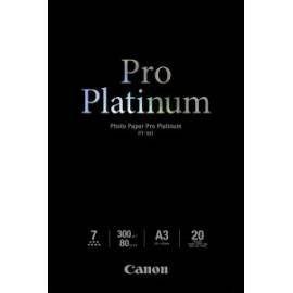 Canon BJ MEDIA PT-101 A3 20 sheets pro platinum