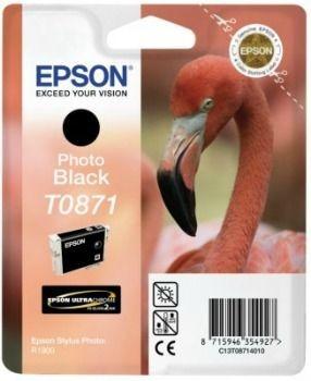 Epson C13T08714010 Tusz T0871 photo black Retail Pack BLISTER Stylus photo R1900