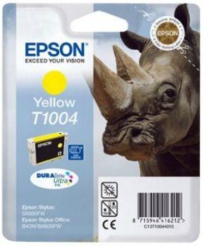 Epson C13T10044010 Tusz T1004 yellow DURABrite Ultra 11.1ml Stylus Office B40W/BX..