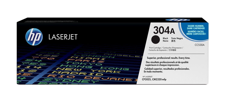 HP CC530A Toner 304A black 3500str Color LaserJet CP2025/CM2320