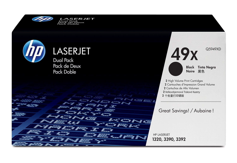 HP Toner Laser 1320/339x Doppel 6k Q5949XD