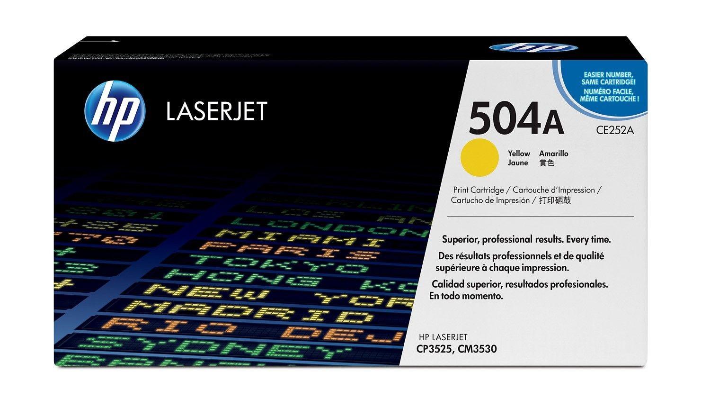 HP CE252A Toner 504A yellow 7000str ColorSphere Color LaserJet CP3520