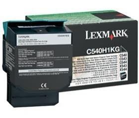 Lexmark C540H1KG Toner black zwrotny 2500 str. C540 / C543 / C544 / C546 / X543/4/6