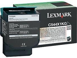 Lexmark C544X1KG Toner black 6000 str. C544 / X544 / X546dtn / X548