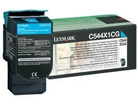 Lexmark Toner cyan   4000 str.   C544 / X544 / X546dtn / X548