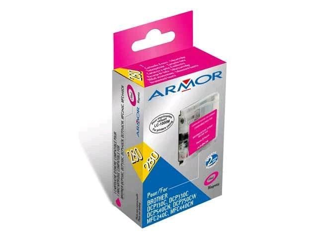 Armor tusz magenta do Brother DCP-130/330 (LC970/1000M)