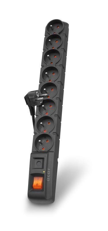 HSK Listwa zasilająca Acar S8 5m czarna automat