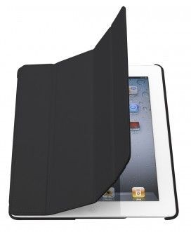 Holdit Etui smart cover iPad 2 Air czarne