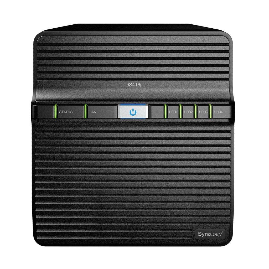 Synology DS416j 4x0HDD 512MB DDR3 Armada 388 2x1.3Ghz 2xUSB