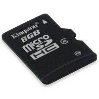 Kingston karta pamięci Micro SDHC 8GB Class 4 bez Adaptera
