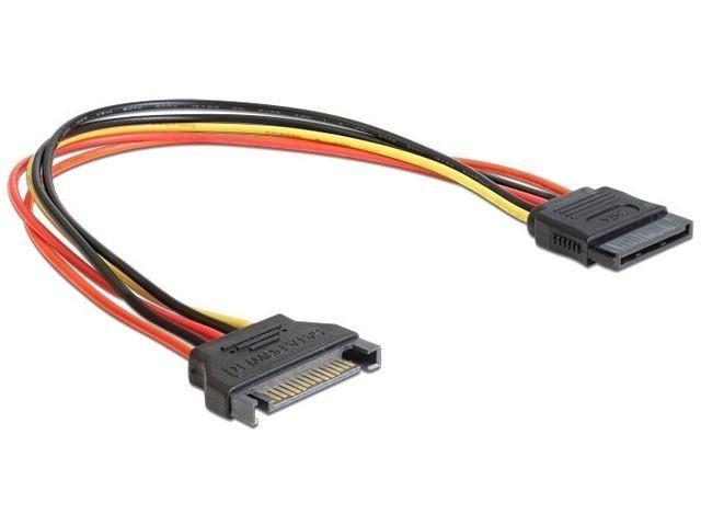 Gembird przedłużacz kabel SATA 15 pin męski > SATA 15 pin żeński 30cm